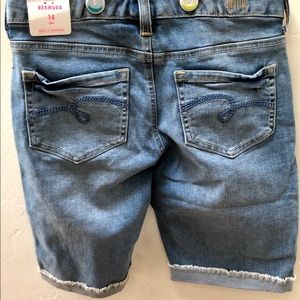 Justice Girls denim shorts